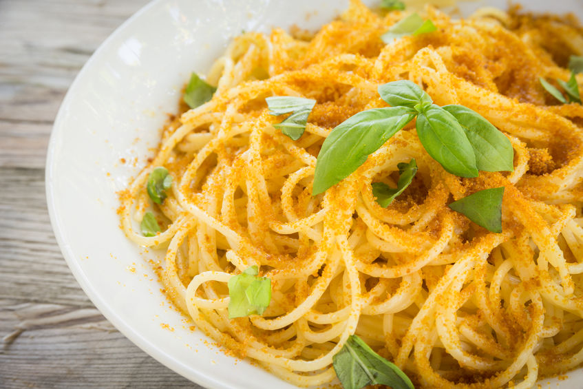 spaghetti con bottarga di tonno Campisi