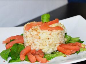 insalata di riso con bottarga di tonno