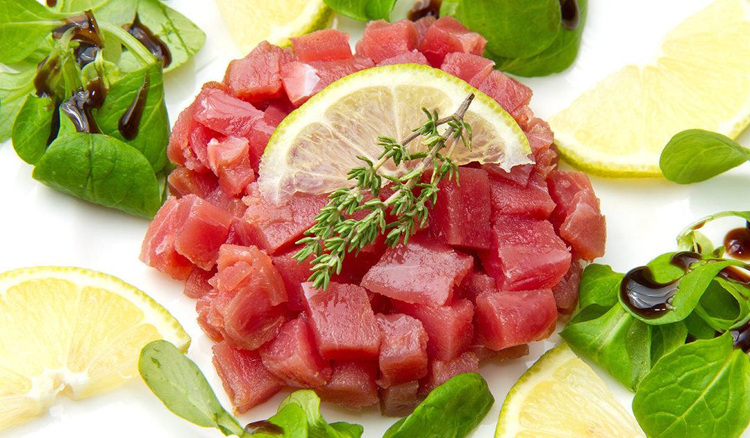 tartare di tonno rosso Campisi