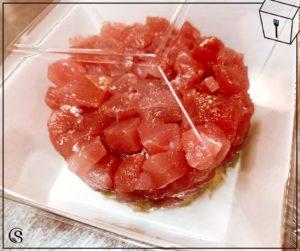 aperitivo di pesce Roma tartare di tonno rosso take away