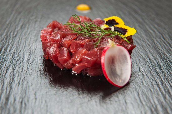 aperitivo di pesce roma tartare di tonno take away