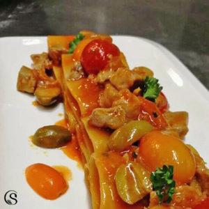 paccheri alla matalotta Campisi ristorante roma