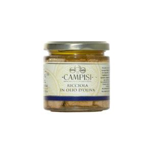 filetti di ricciola in olio d'oliva Campisi Conserve