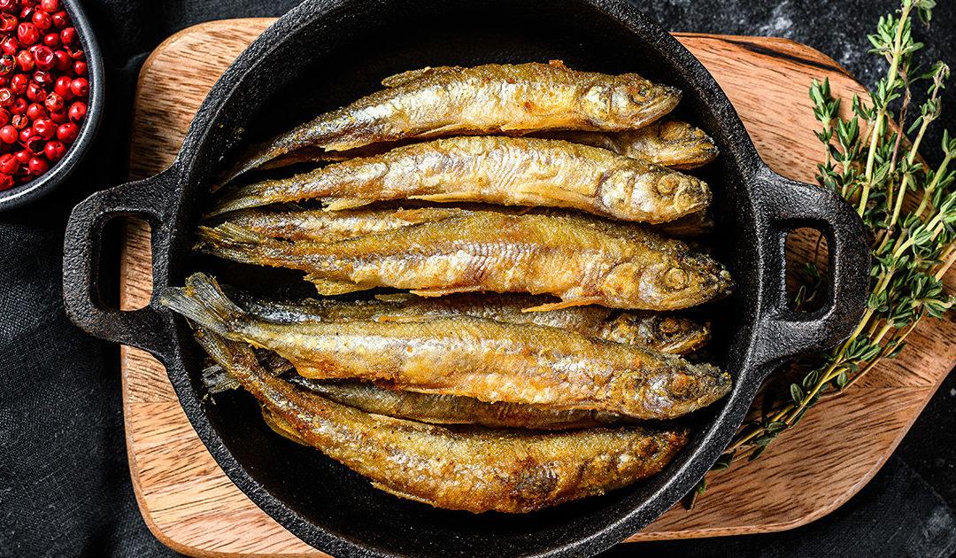 frittura di alici i segreti dello chef Campisi